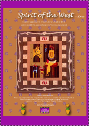 spirit of the west quilt pattern photo